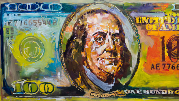 史蒂夫 -  penley  - 本杰明 - 富兰克林100美元的账单620.jpg