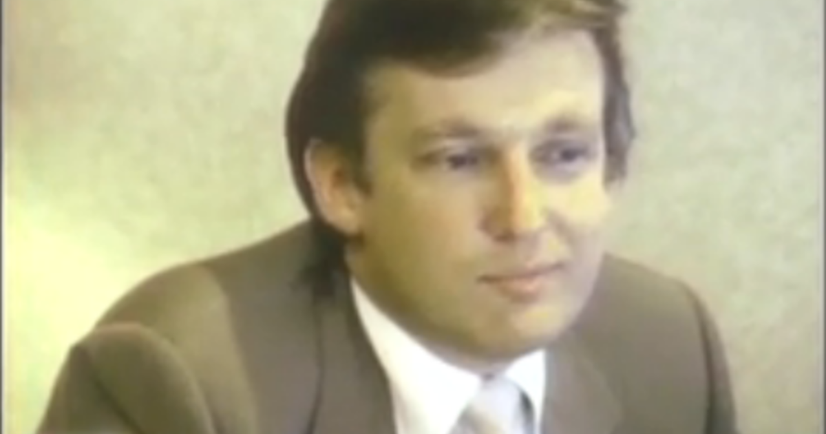 Watch Donald Trump On Quot 60 Minutes Quot Back In 1985 Cbs News