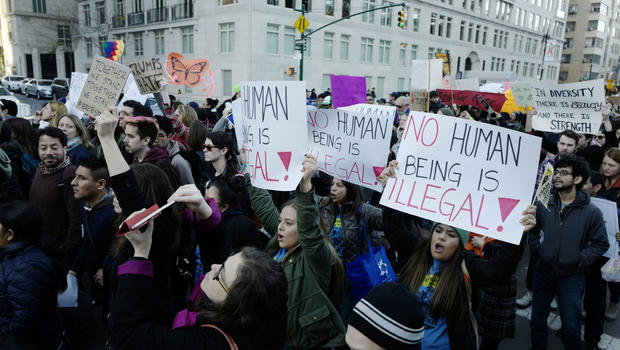 Image result for 5th day protest trump