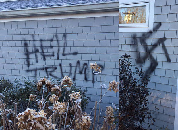 Rise in hate crimes following Trump's election win