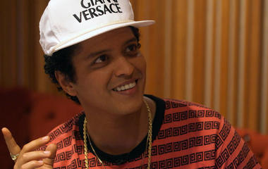 "Bruno Mars on songwriting: ""It has to sound like me"""