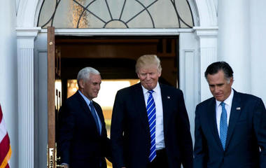 Trump continues meetings to fill his Cabinet