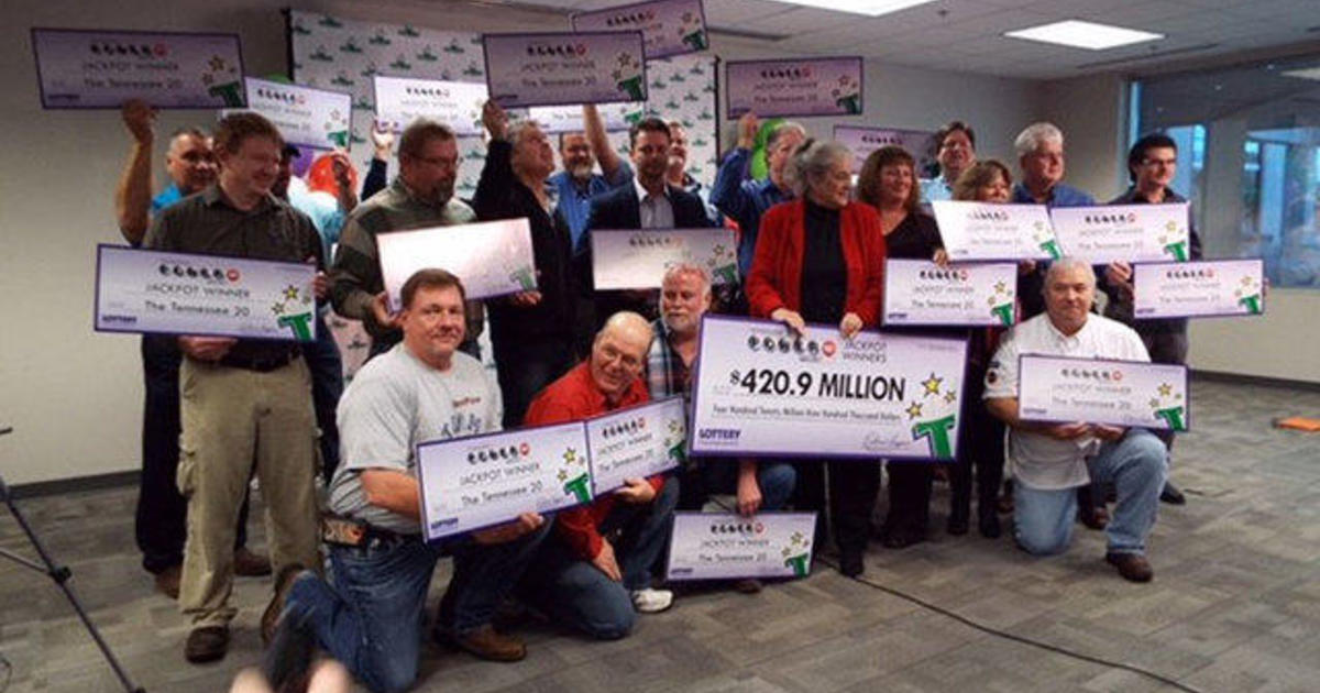 421M Powerball Jackpot Claimed By 20 Co Workers In