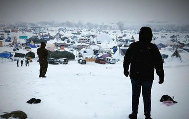 Dakota Access Pipeline protesters plan to defy evacuation order