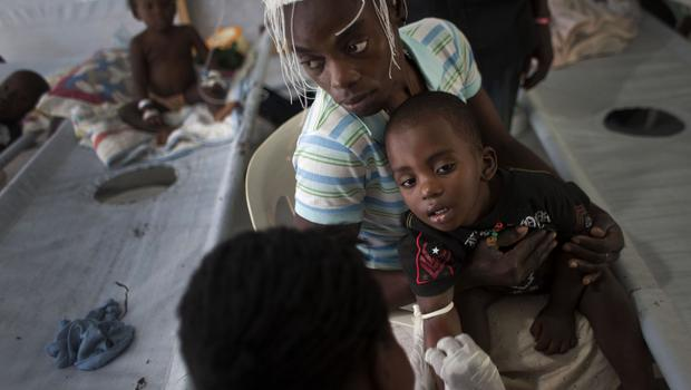United Nations chief sorry for organization's role in deadly Haiti cholera outbreak