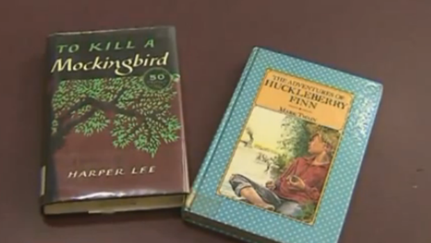 Classic novels banned in schools due to racial slurs