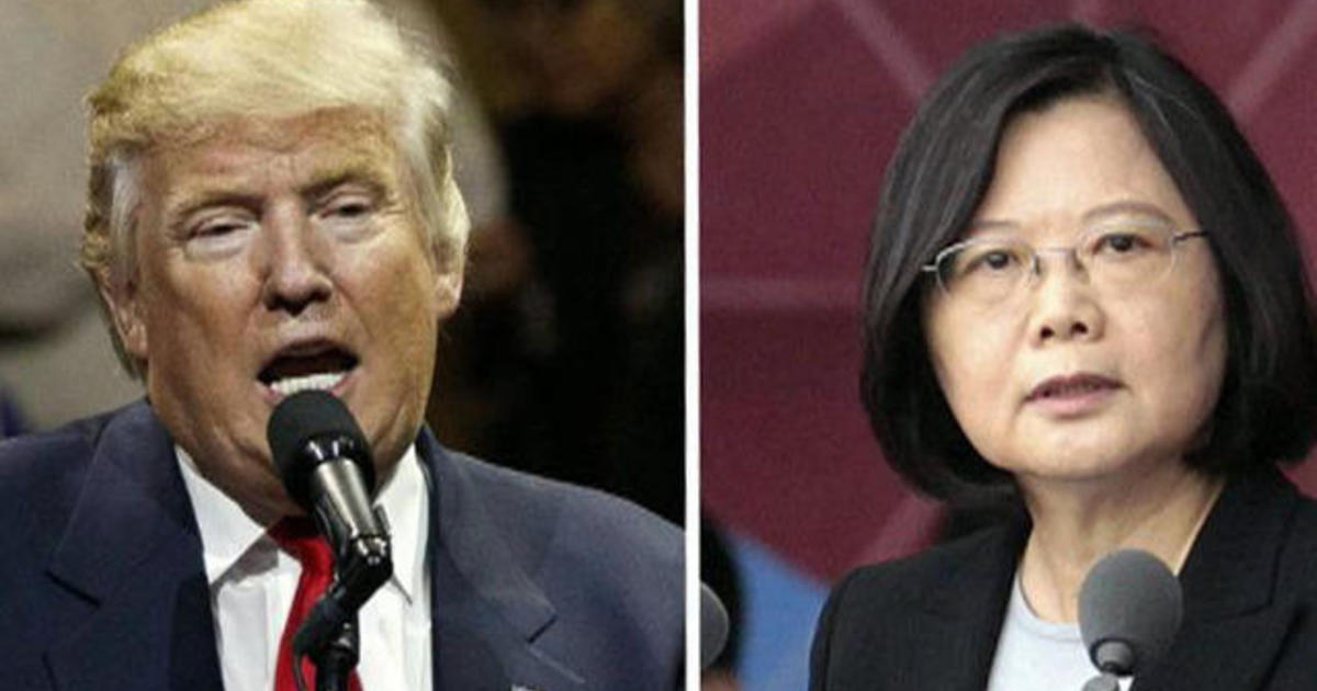Was Trump's call to Taiwan's president a