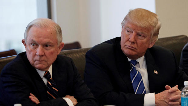 Donald Trump expresses regret over appointing Jeff Sessions Attorney General