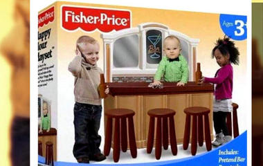 """Fake """"Happy Hour Playset """" sparks outrage"""