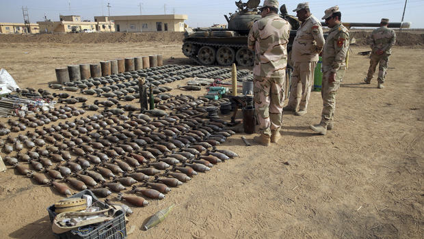 "Islamic State Of Iraq And Syria >> ISIS ""industrial"" weapons production in Mosul with supply from Turkey revealed as Iraq forces ..."