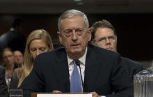 Gen. James Mattis: We need to promote peace between Israel and Palestinians