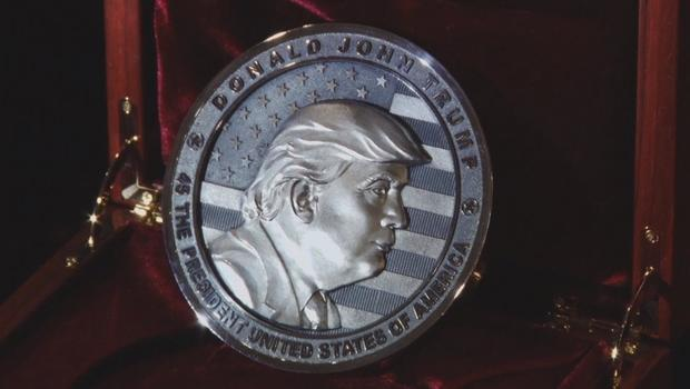 Russians mint commemorative Trump coin