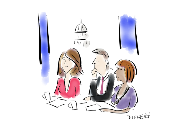 Sketches of Inauguration Day 2017