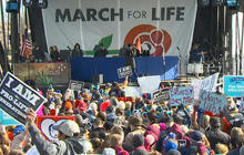 """Thousands gather for annual """"March for Life"""""""