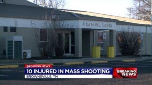 Shooting at Tennessee armory leaves 10 wounded, three still hospitalized