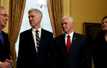 Democrats aim to block Supreme Court nominee Neil Gorsuch