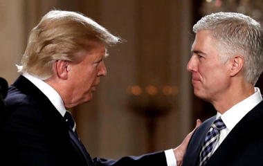 Supreme Court nominee Gorsuch faces contentious confirmation battle
