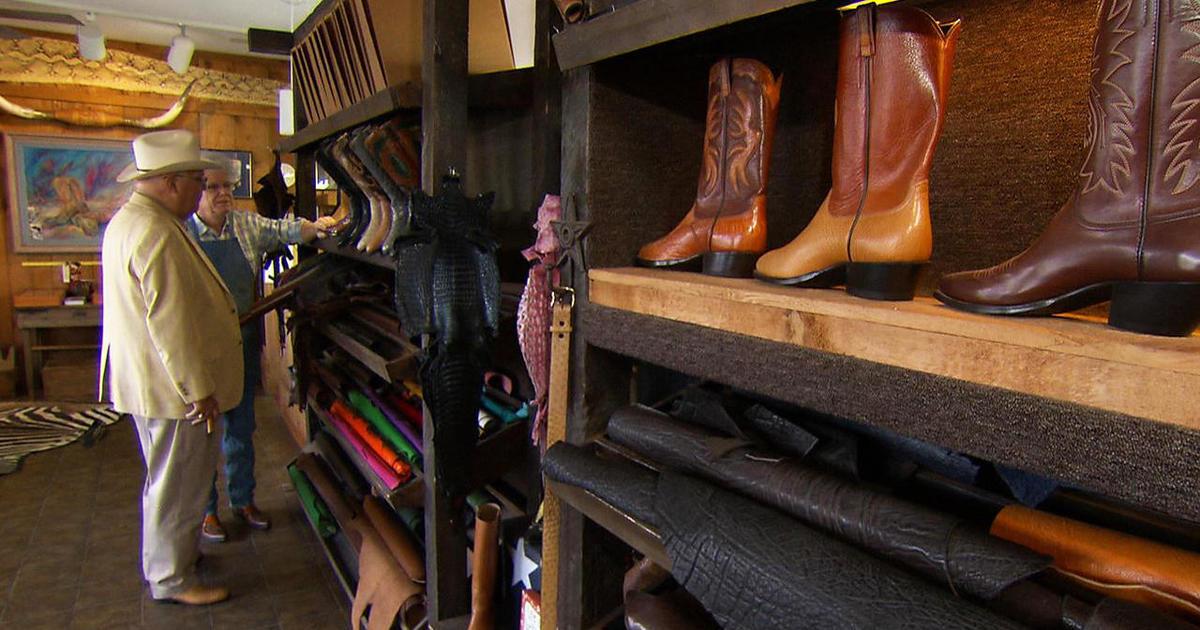 Custom Cowboy Boots A Dying Art Cbs News