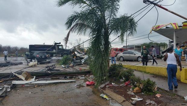 Multiple tornadoes hit Louisiana