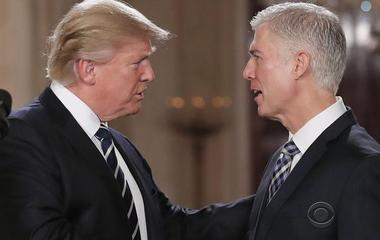 Trump denies Gorsuch's criticism of attacks on judiciary