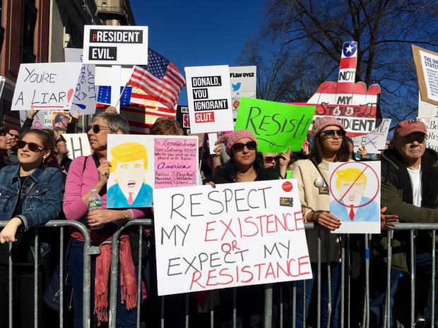 """""""Not My President's Day"""" protests"""