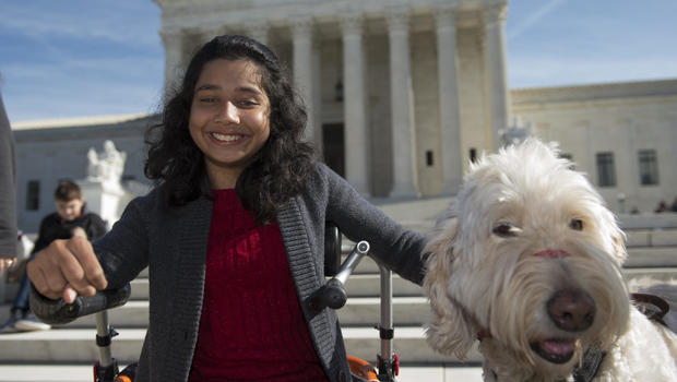 Supreme Court rules for disabled child and her dog in lawsuit case