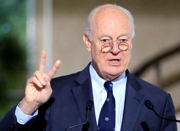 Syria talks may not yield breakthrough: United Nations envoy