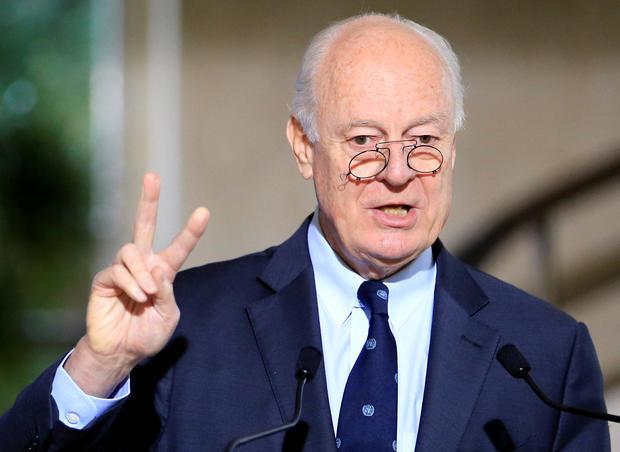 Syria opposition on same tack as U.S.  on terrorism, Iran
