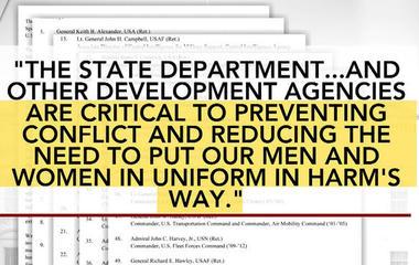 Over 120 retired generals sign letter against Trump's defense spending plan