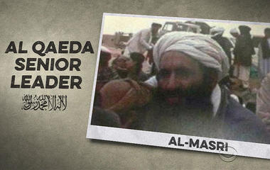 Al Qaeda's number two killed in drone strike in Syria