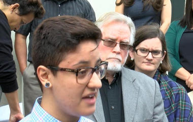 """""""DREAMer"""" could be deported after speaking out on immigration"""