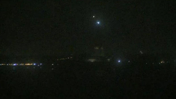 Lights out at Statue of Liberty