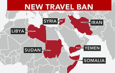 Growing number of U.S. states challenge Trump's new travel ban