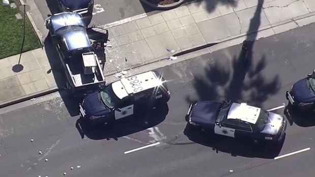 Naked man shot after police pursuit, authorities say