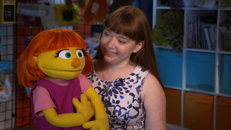 Julia, a Muppet With Autism, Joins 'Sesame Street' Cast