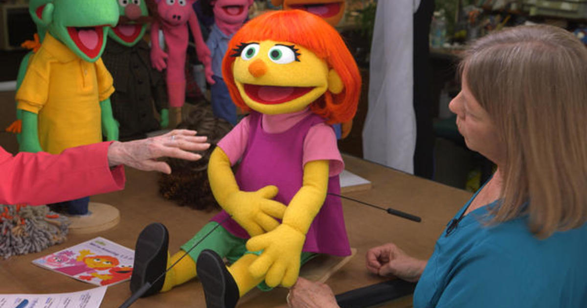 Building Julia The First Muppet With Autism Videos