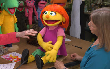 Building Julia, the first Muppet with autism
