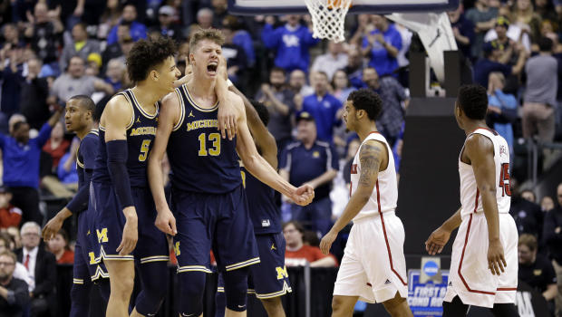 Michigan's Sweet 16 ride due as much to talent as destiny