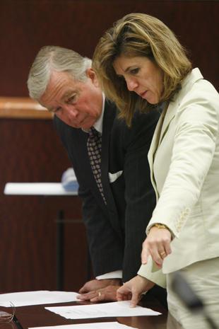Evidence photos in the Belinda Temple case