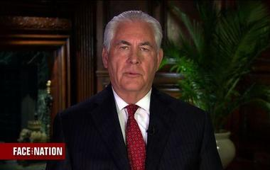 "Tillerson calls Rubio's criticism of his statement on Syria ""regrettable"""