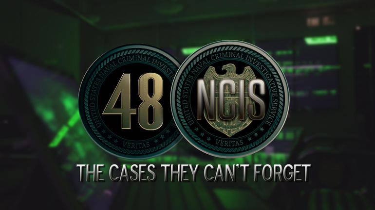 """48 Hours: NCIS"" logo"