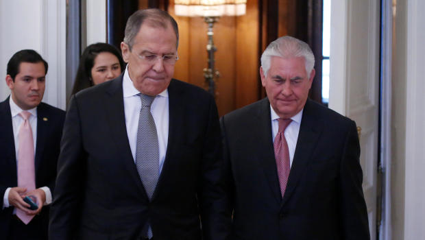 Putin, Tillerson discuss bad state of US-Russian ties, Kremlin says