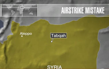 U.S. airstrike mistakenly kills 18 allied Syrian soldiers