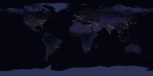 170413  - 美国航天局地球夜间地图large.jpg