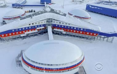 In push for disputed territory, Russia reveals new Arctic military base