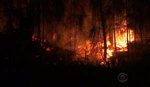 Wildfires burn across Florida