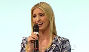 Ivanka Trump receives icy welcome at women's event in Germany