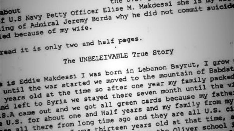 Eddie Makdessi story document