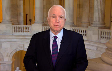 Sen. McCain on North Korea nuclear threat, China's role