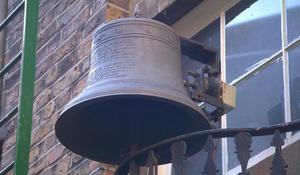 Bell tolls for historic bell maker